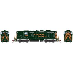 Athearn G82309 HO GP7 w/DCC & Sound Western Pacific WP #708