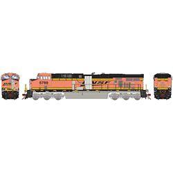 Athearn G83078 HO ES44AC BNSF w/PTC Primer #5789