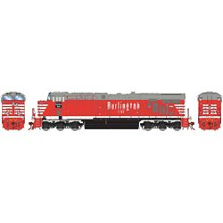 Athearn G83169 HO ES44AC w/DCC & Sound Chicago Burlington & Quincy #1267