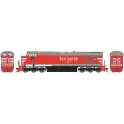 Athearn G83171 HO ES44AC w/DCC & Sound Chicago Burlington & Quincy #1298