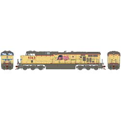 Athearn G83184 HO ES44AC w/DCC & Sound Union Pacific UP/Fader #5363