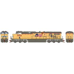 Athearn G83186 HO ES44AC w/DCC & Sound Union Pacific UP/Fader #5454