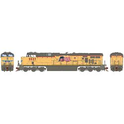 Athearn G83188 HO ES44AC w/DCC & Sound Union Pacific UP/Fader #5537