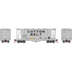 Athearn G87681 HO GATC 2600 Airslide Hopper Cotton Belt SSW #79544