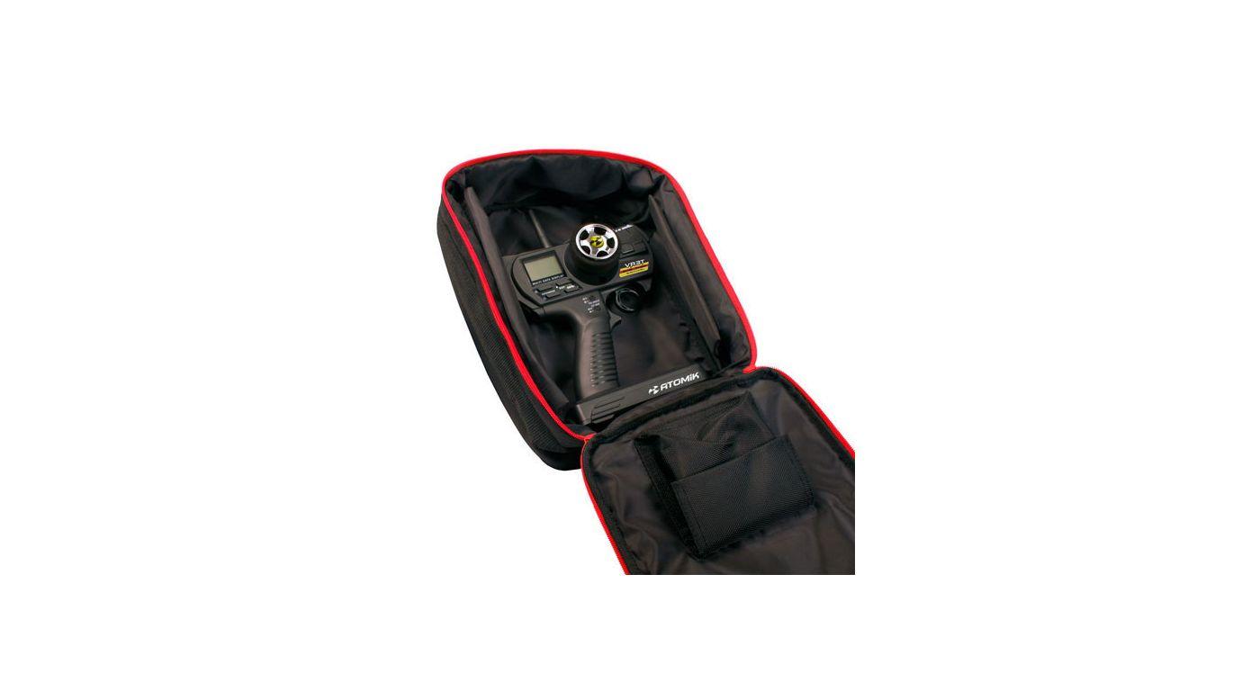 Image for Transmitter Bag, Black & Red from HorizonHobby