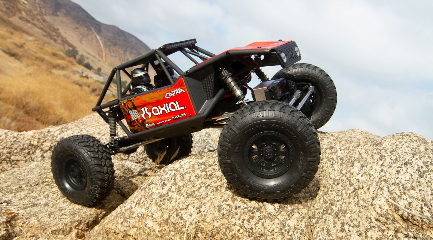 Image for 1/10 Capra 1.9 Unlimited 4WD Trail Buggy Brushed RTR, Red from HorizonHobby