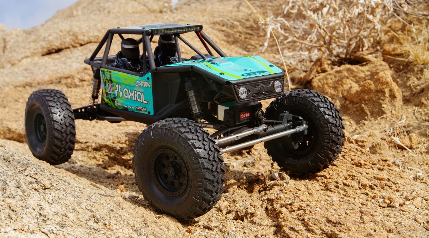 Image for 1/10 Capra 1.9 Unlimited 4WD RTR Trail Buggy, Green from HorizonHobby