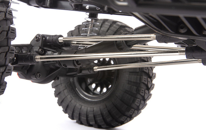 4-LINK REAR SUSPENSION