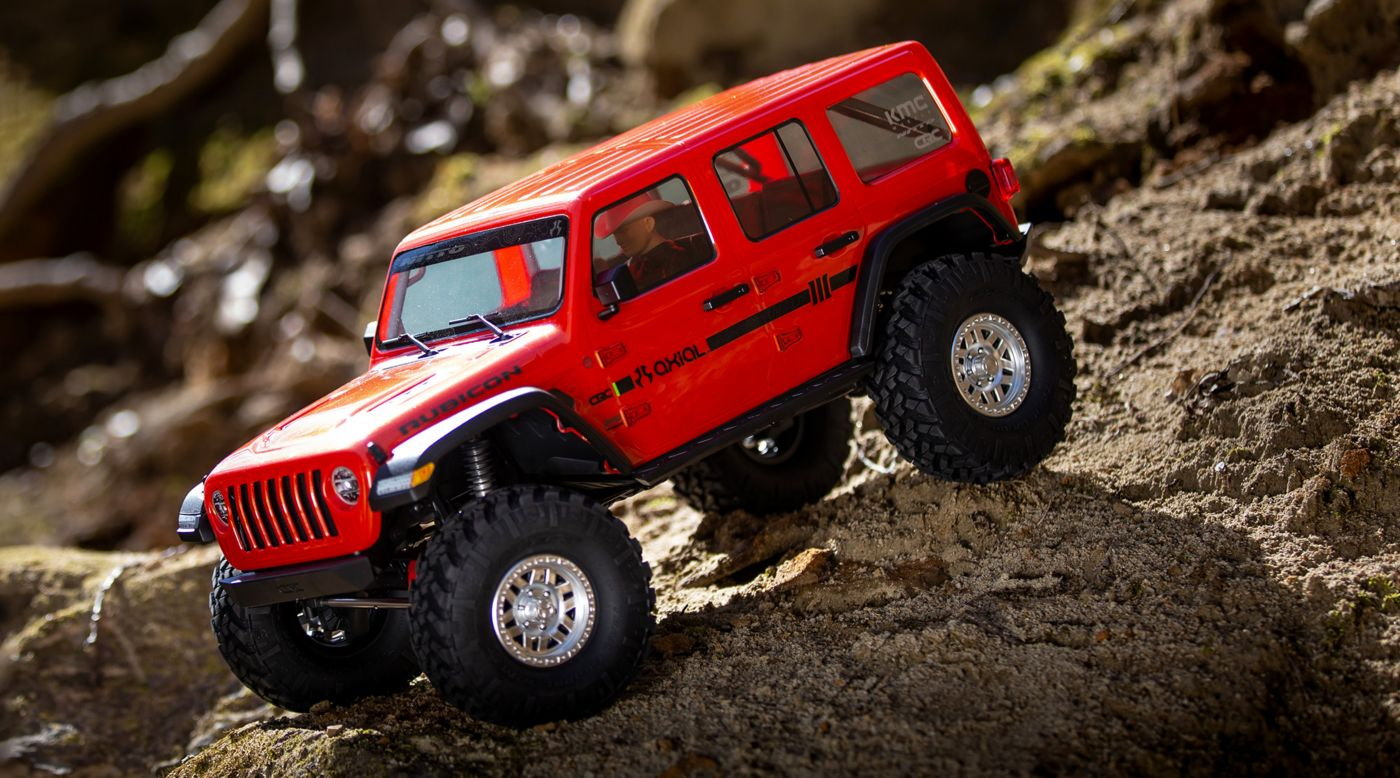 Image for 1/10 SCX10 III Jeep JLU Wrangler with Portals RTR, Orange from Horizon Hobby