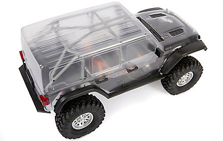 CLEAR JEEP WRANGLER LIMITLESS 4-DOOR BODY