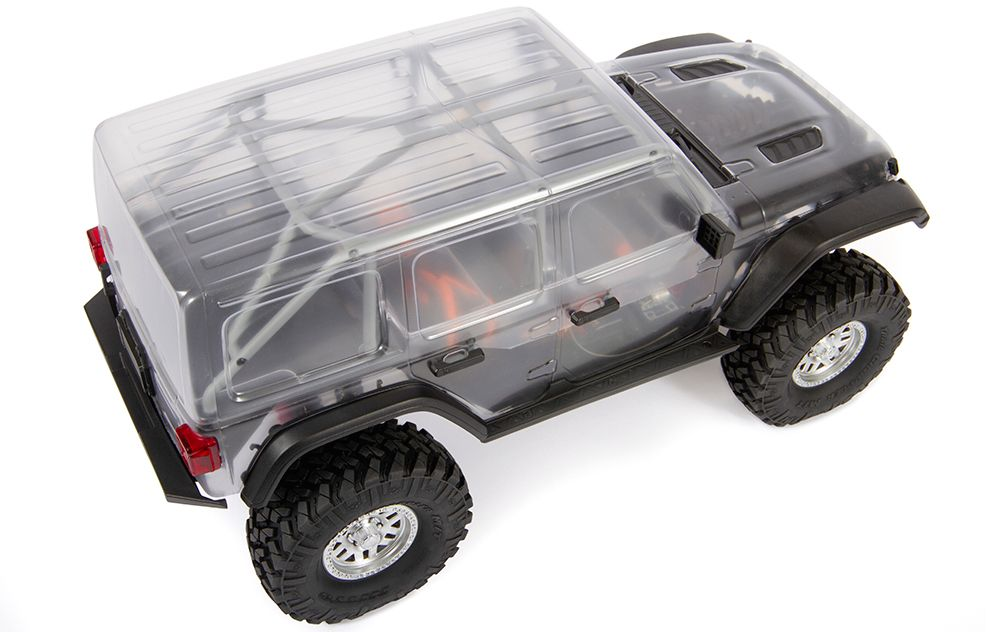 CLEAR JEEP WRANGLER UNLIMITED 4-DOOR BODY