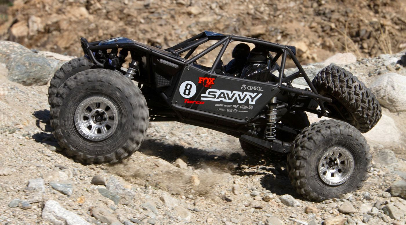 Image for 1/10 RR10 Bomber 4WD Rock Racer RTR, Savvy from HorizonHobby