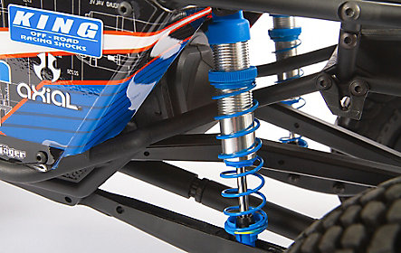 ADJUSTABLE ALUMINUM SHOCKS