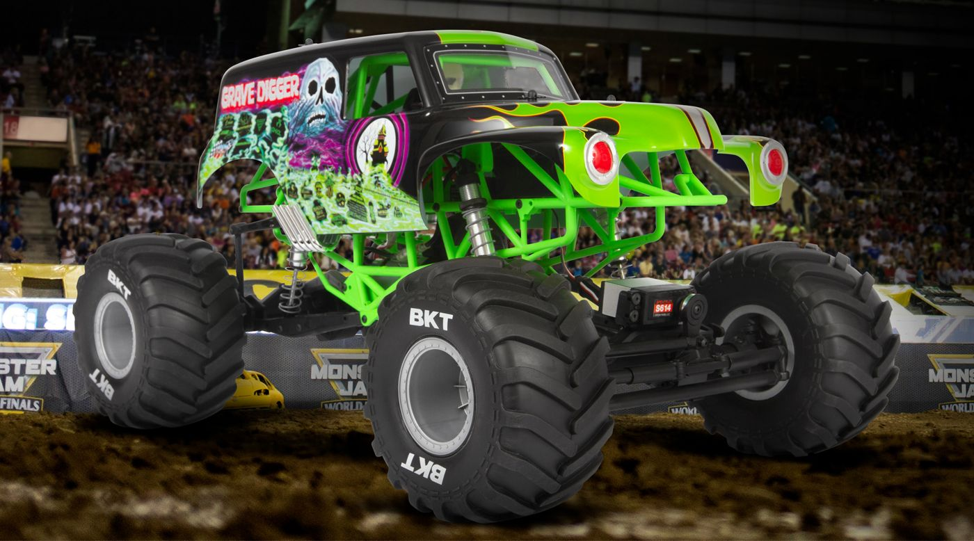 Image for 1/10 SMT10 Grave Digger 4WD Monster Truck Brushed RTR from HorizonHobby