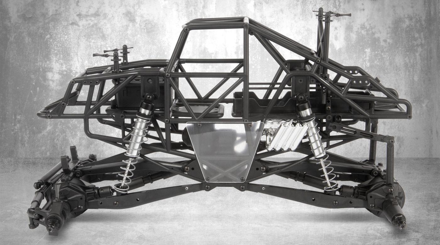 Image for 1/10 SMT10 4WD Monster Truck Raw Builders Kit from HorizonHobby
