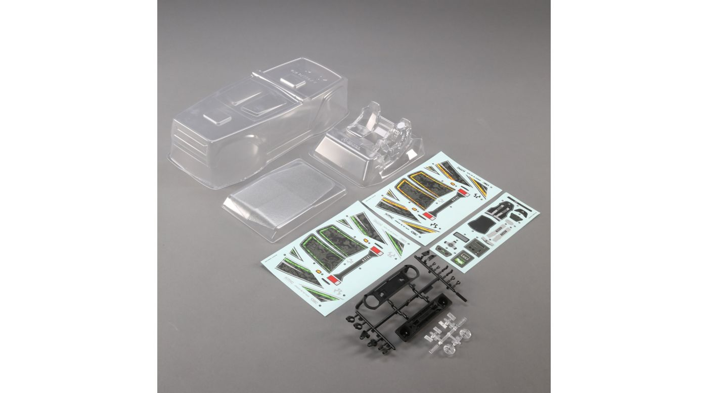 Image for Clear Body & Interior Set: Wraith 1.9 from HorizonHobby