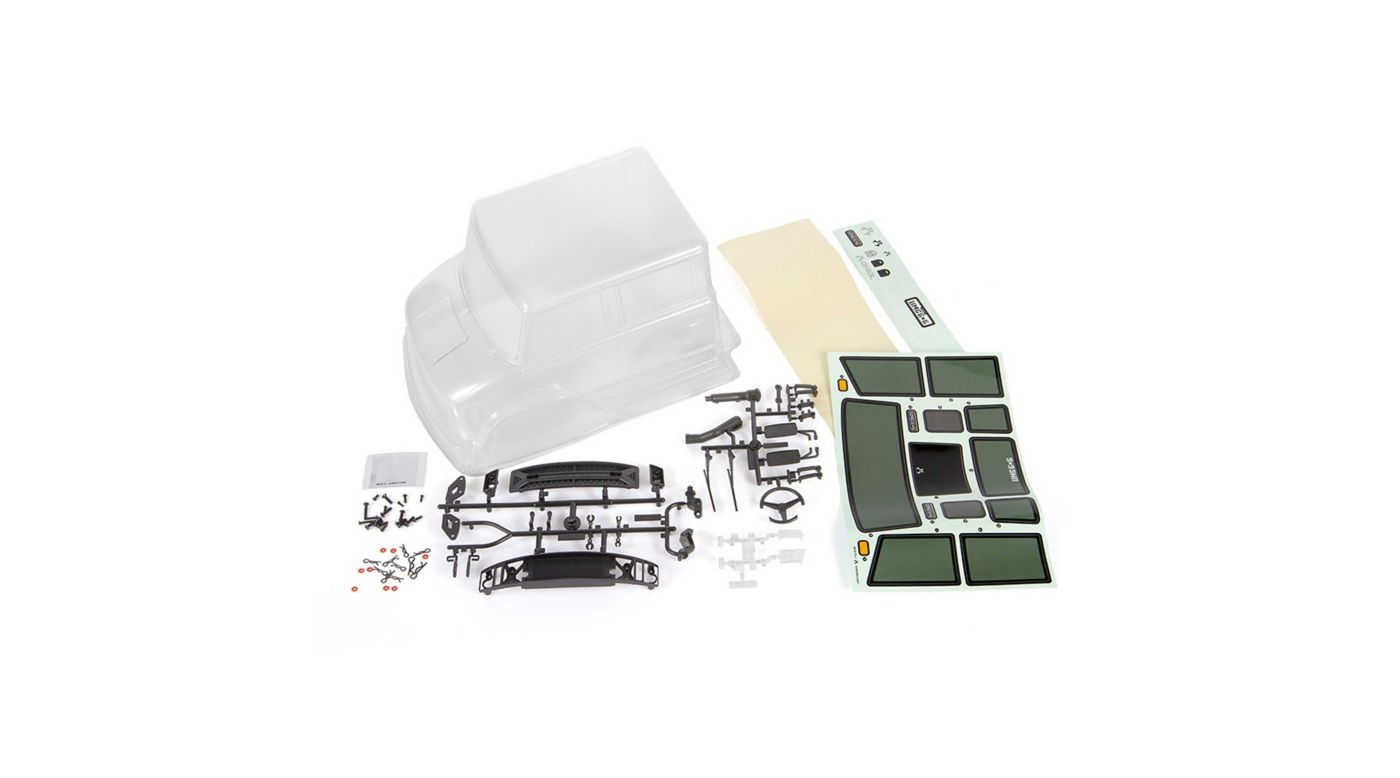 Image for UMG10 4 Door Cab, .040 Cut, Clear: UMG10 6x6 from HorizonHobby