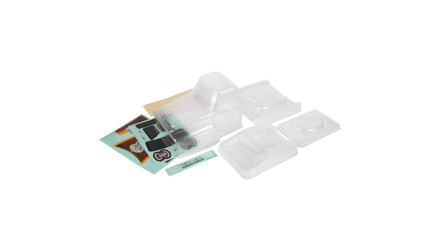 Image for 1955 Ford F-100 Body Outer Panel Set, Clear from HorizonHobby