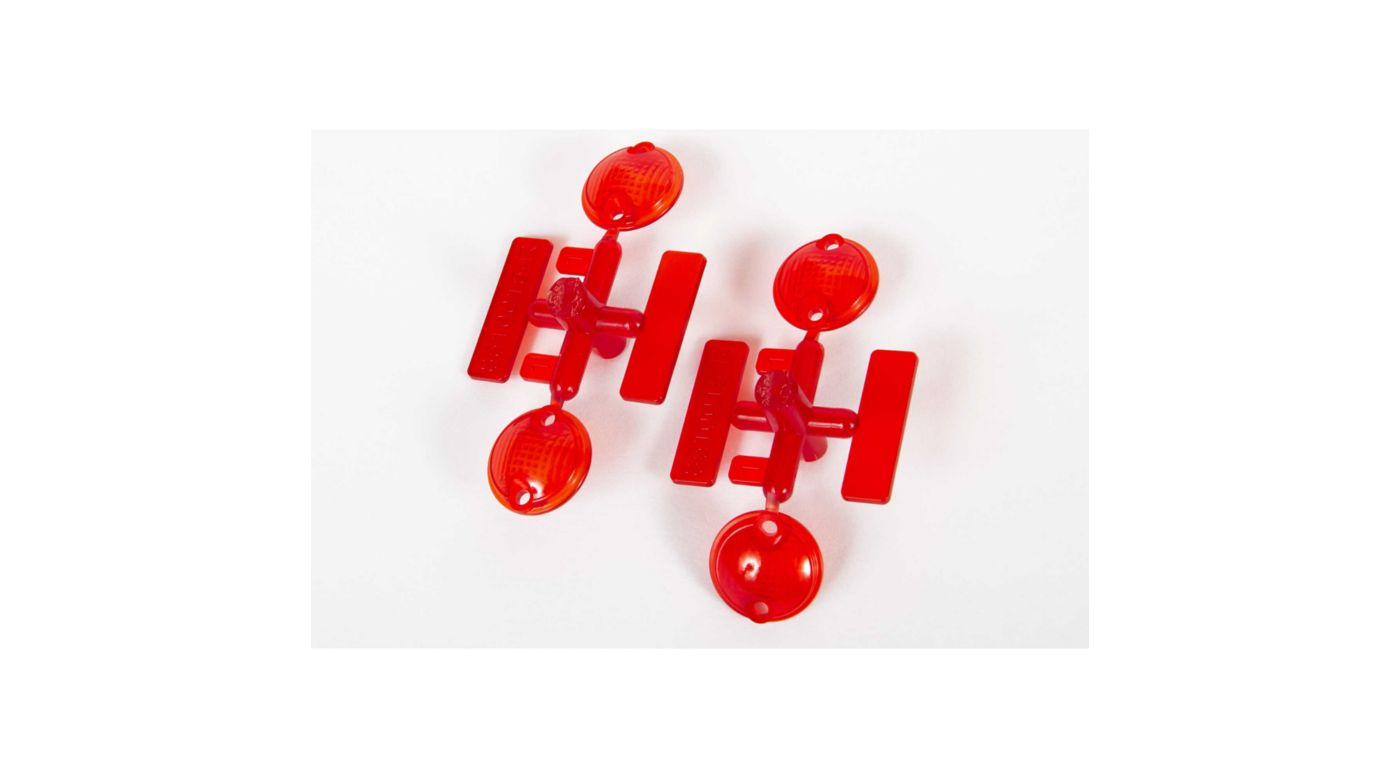 Image for Tail Light Lens, Red (2 pcs): UMG 6x6 from HorizonHobby