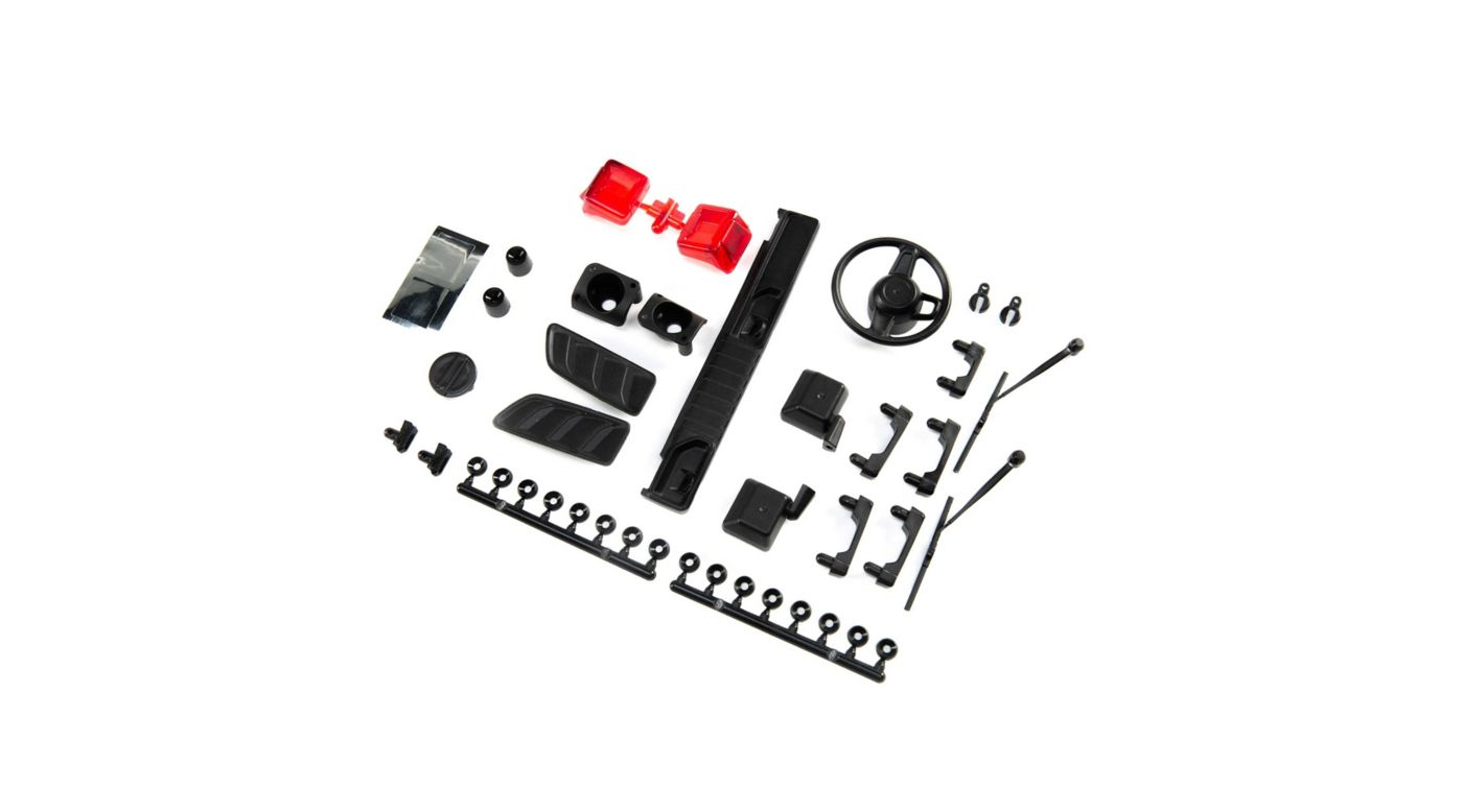 Image for Exterior Body Detail Parts, Jeep JLU: SCX10 III from Horizon Hobby