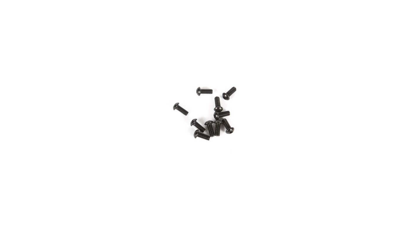 Image for M2.5 x 6mm Button Head Screw (10) from Horizon Hobby