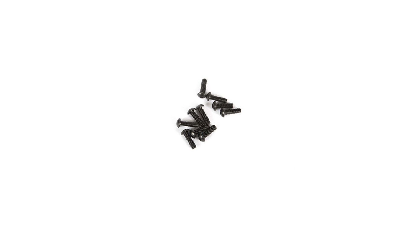 Image for M2.5 x 8mm Button Head Screw (10) from HorizonHobby