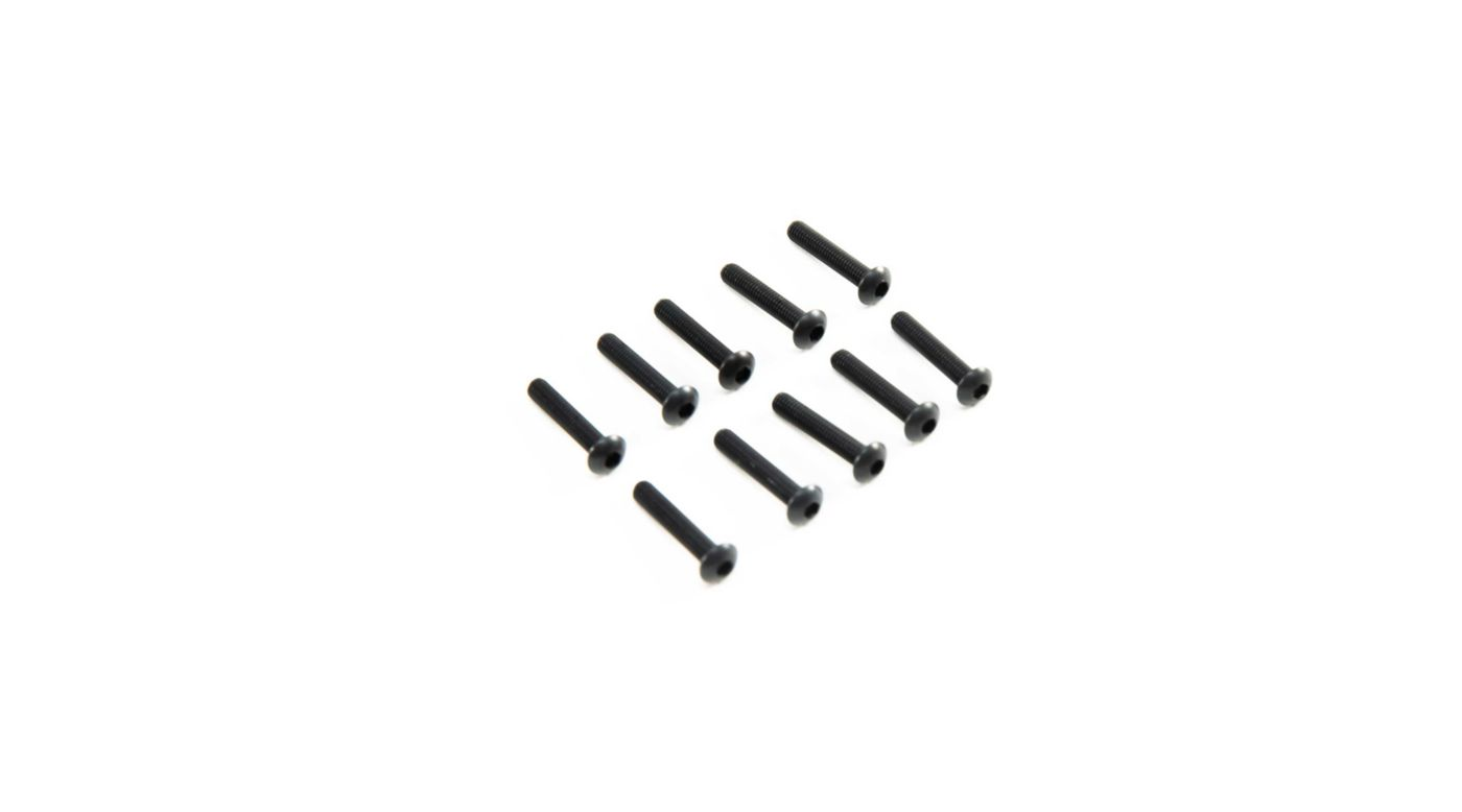 Image for M3 x 16mm Button Head Screw (10) from Horizon Hobby