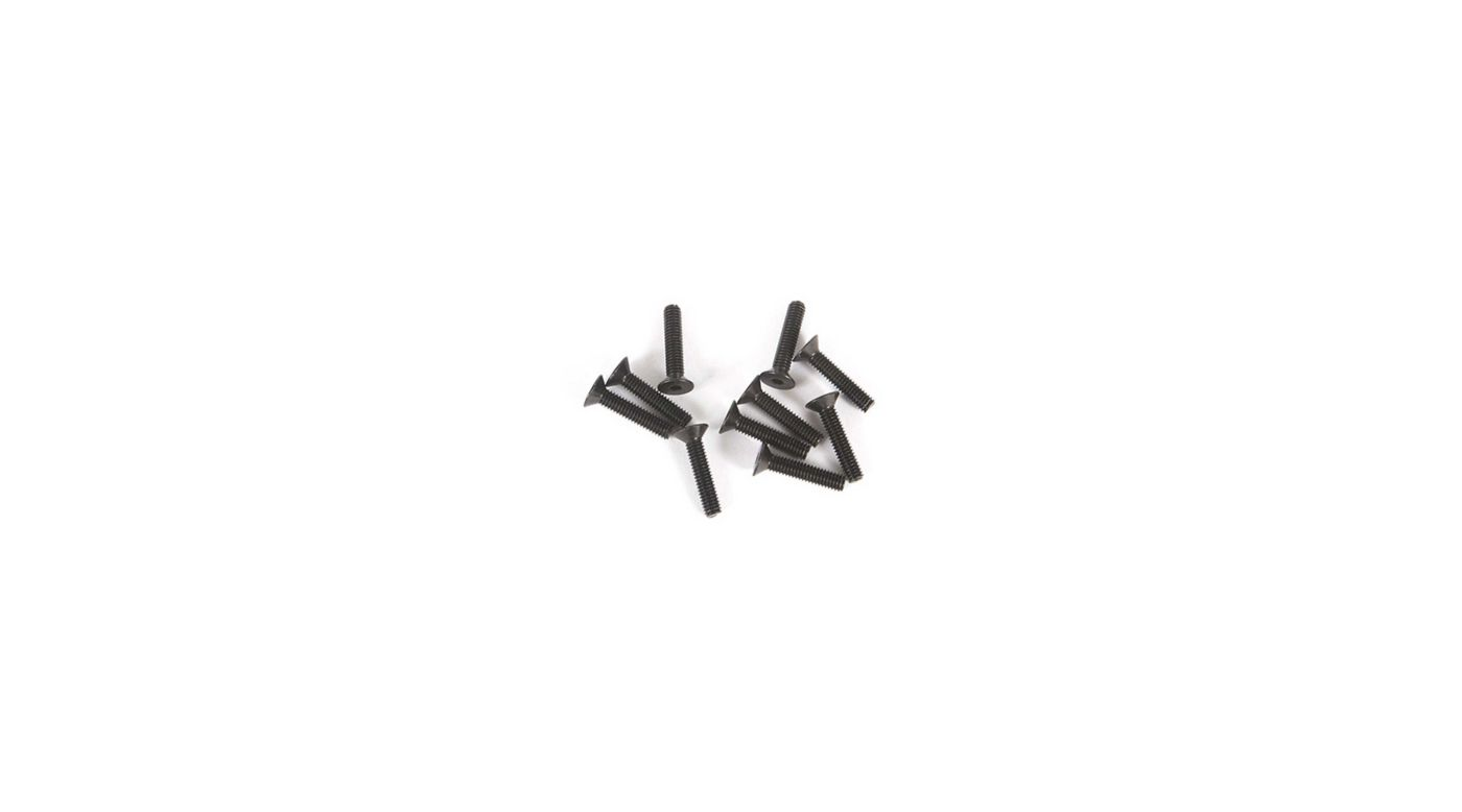 Image for M2.5 x 12mm Flat Head Screw (10) from Horizon Hobby