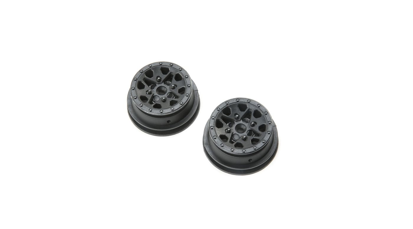 Image for 1.2 1.55 Can-Am Maverick X3 Wheel, Black (2pcs) from HorizonHobby