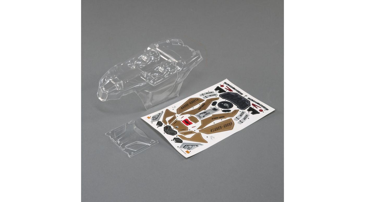Image for Can-Am Maverick X3 Body, Clear: Yeti Jr from HorizonHobby