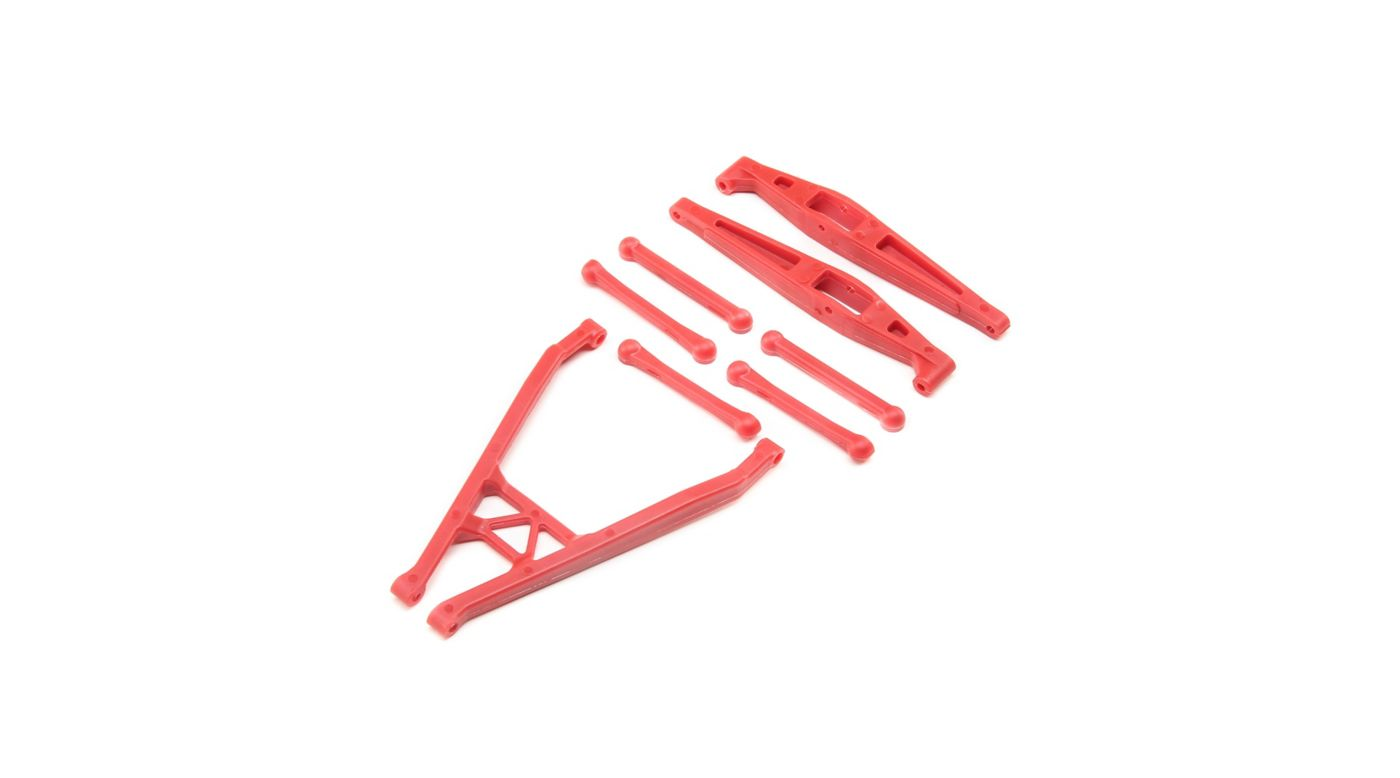 Image for Rear Axle Link Set, Red: Yeti Jr from HorizonHobby