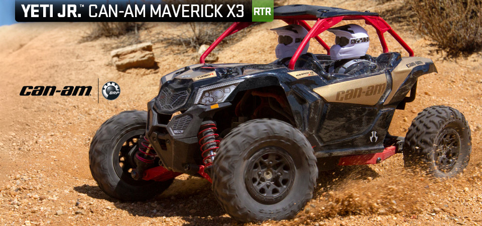 Yeti Jr Can-Am® Maverick X3