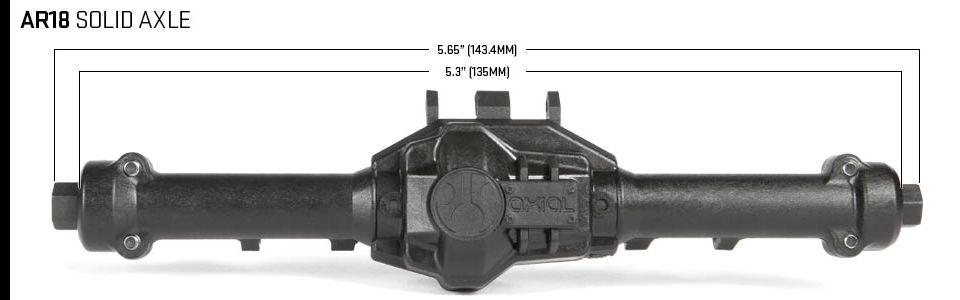 AR18 Solid Rear Axle