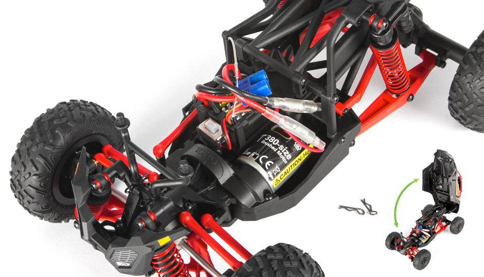 Rear Hinge Body Mount System
