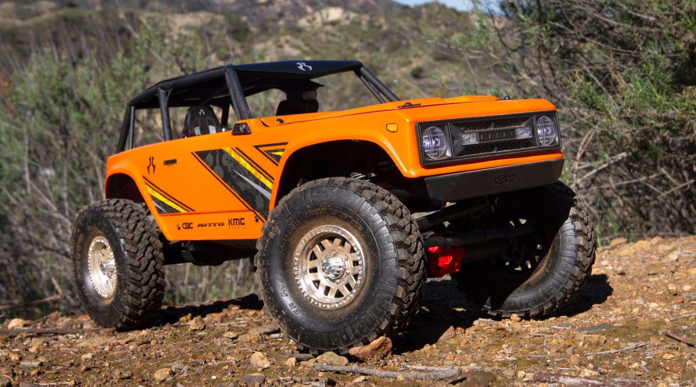 Image for 1/10 Wraith 1.9 4WD Rock Crawler Brushed RTR, Orange from HorizonHobby