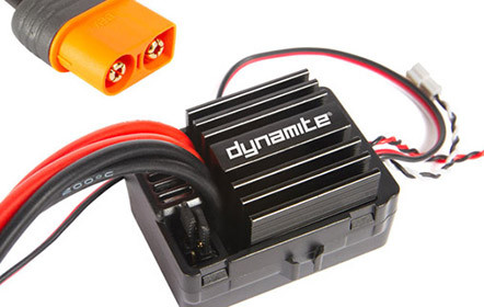 Dynamite<sup>®</sup> Electronic Speed Control With Drag Brake