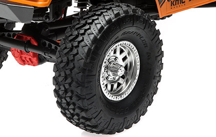Licensed 1.9 Nitto Trail Grappler M/T Tires