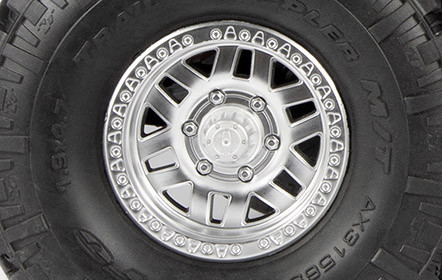 Licensed KMC XD229 Machete Crawl Wheels