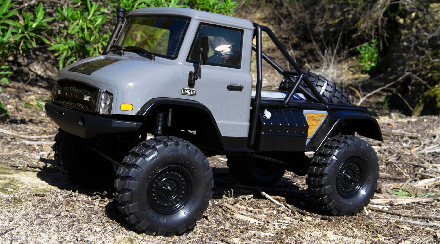 Image for 1/10 SCX10 II UMG10 4WD Rock Crawler Kit from HorizonHobby