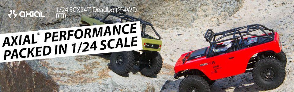 SCX24™ Deadbolt™ 1/24 Scale 4WD RTR