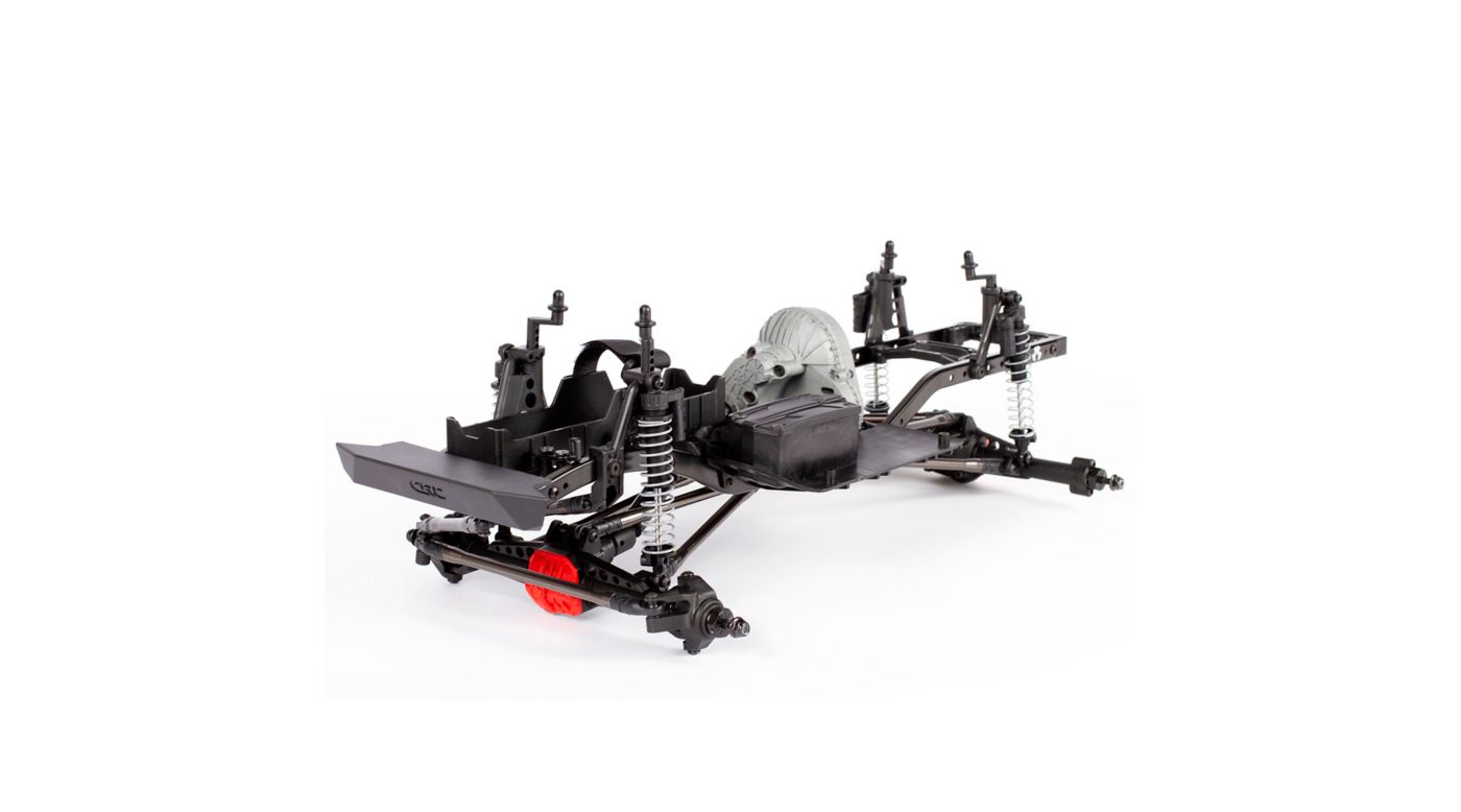 Image for 1/10 SCX10 II Raw Builders Kit from HorizonHobby