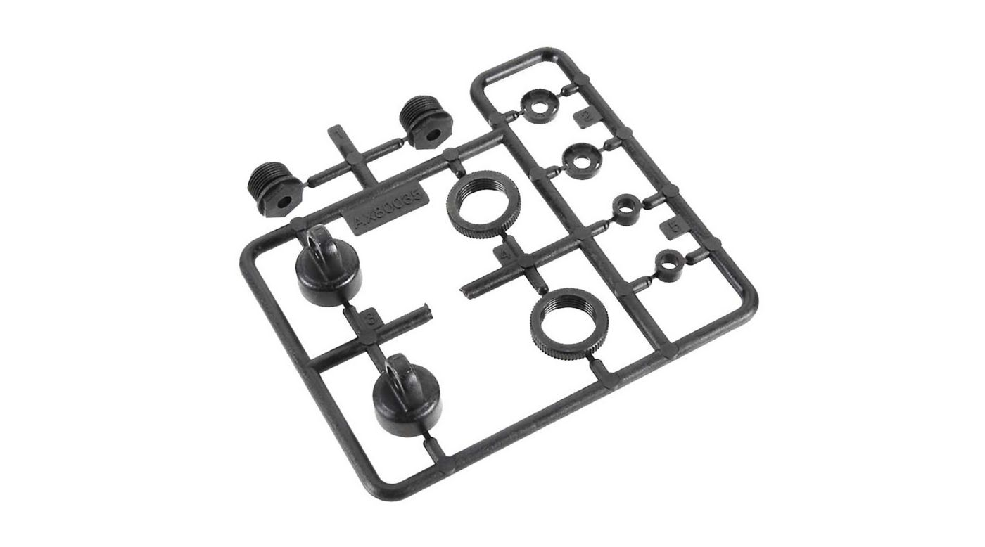 Image for 10mm Shock Caps Parts Tree from HorizonHobby