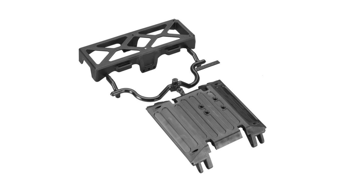 Image for Tube Frame Skid Plate Battery Tray Wraith from HorizonHobby
