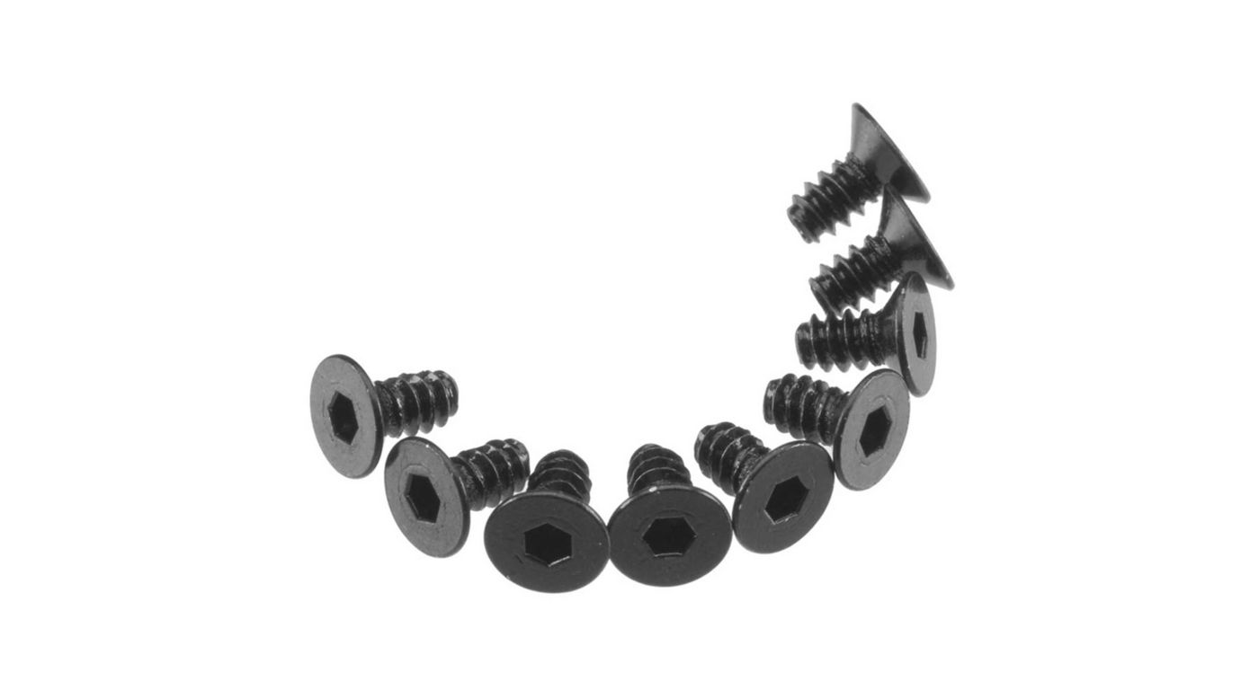 Image for Hex Socket Tap Flat Head M3x6mm Black (10) from HorizonHobby