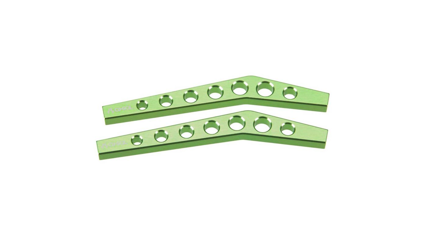 Image for Machined High-Clearance Link, Green (2) from HorizonHobby