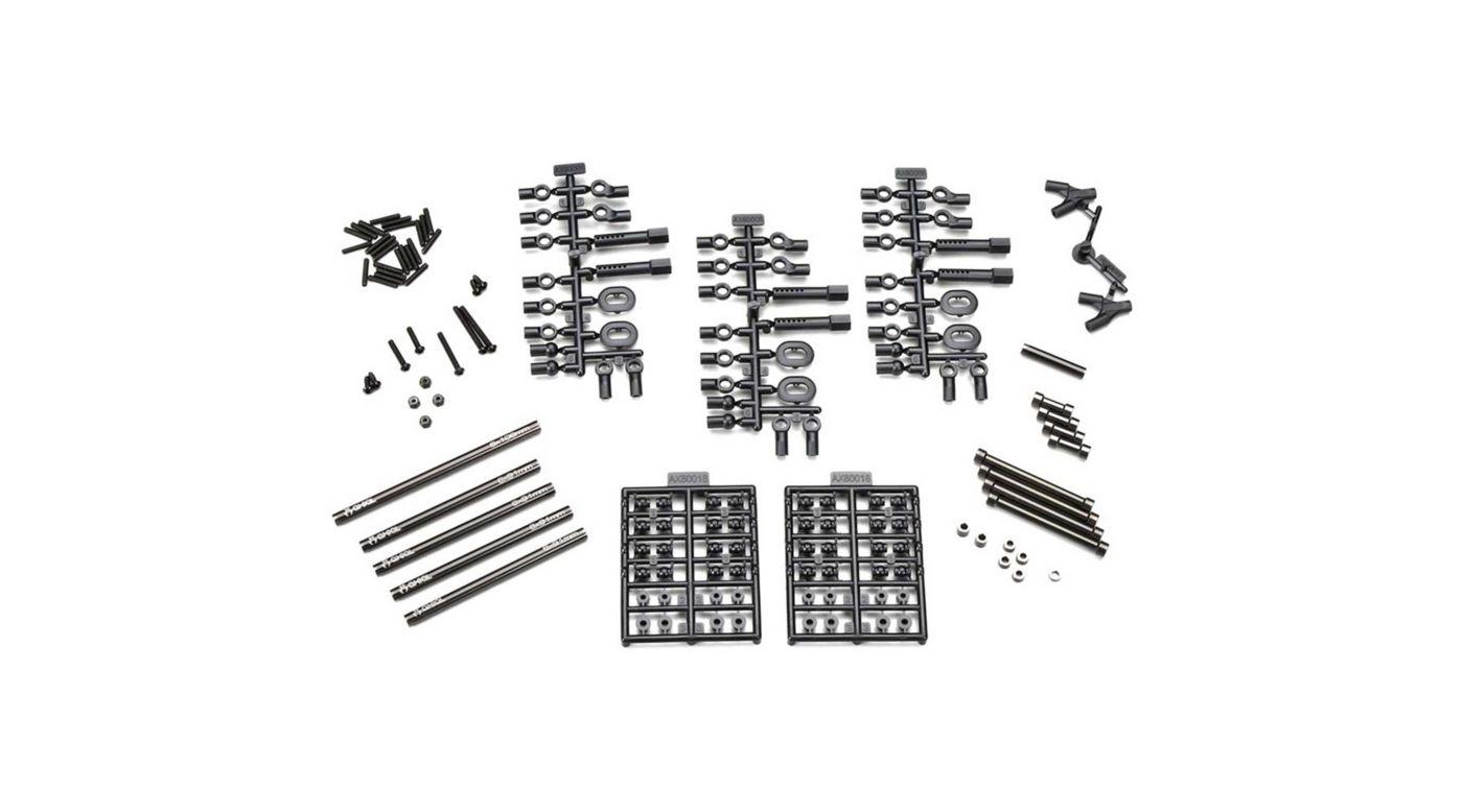 Image for Aluminum Wheelbase Links Set 11.4 (290mm) from HorizonHobby