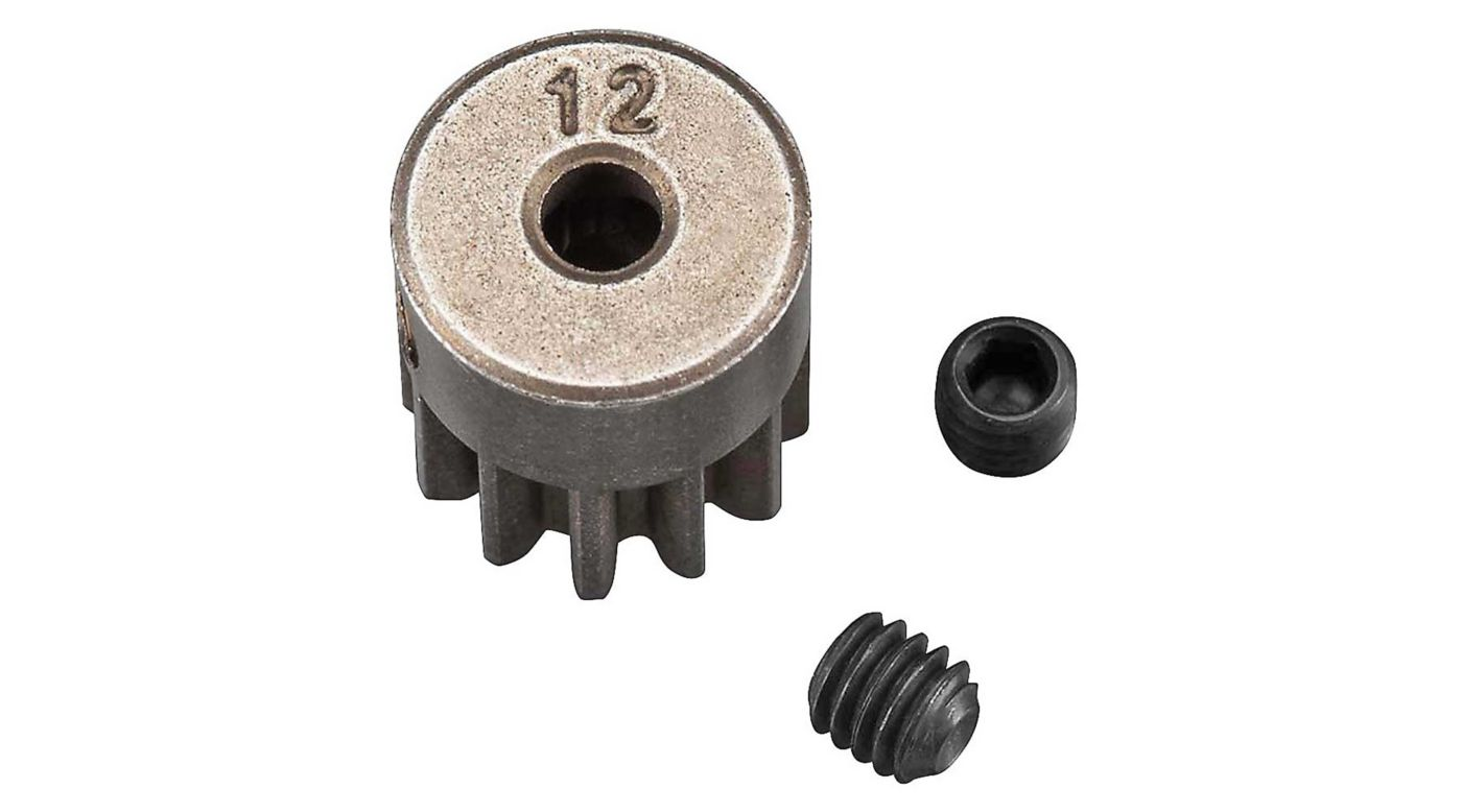 Image for Pinion Gear 32P 12T Steel 3mm Motor Shaft from HorizonHobby