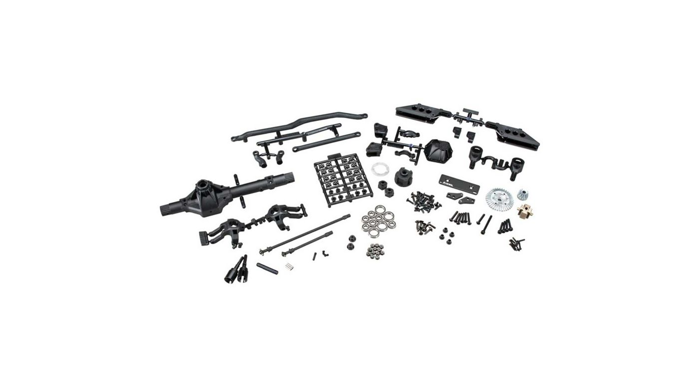 Image for AR60 OCP Front Axle Set Complete from HorizonHobby