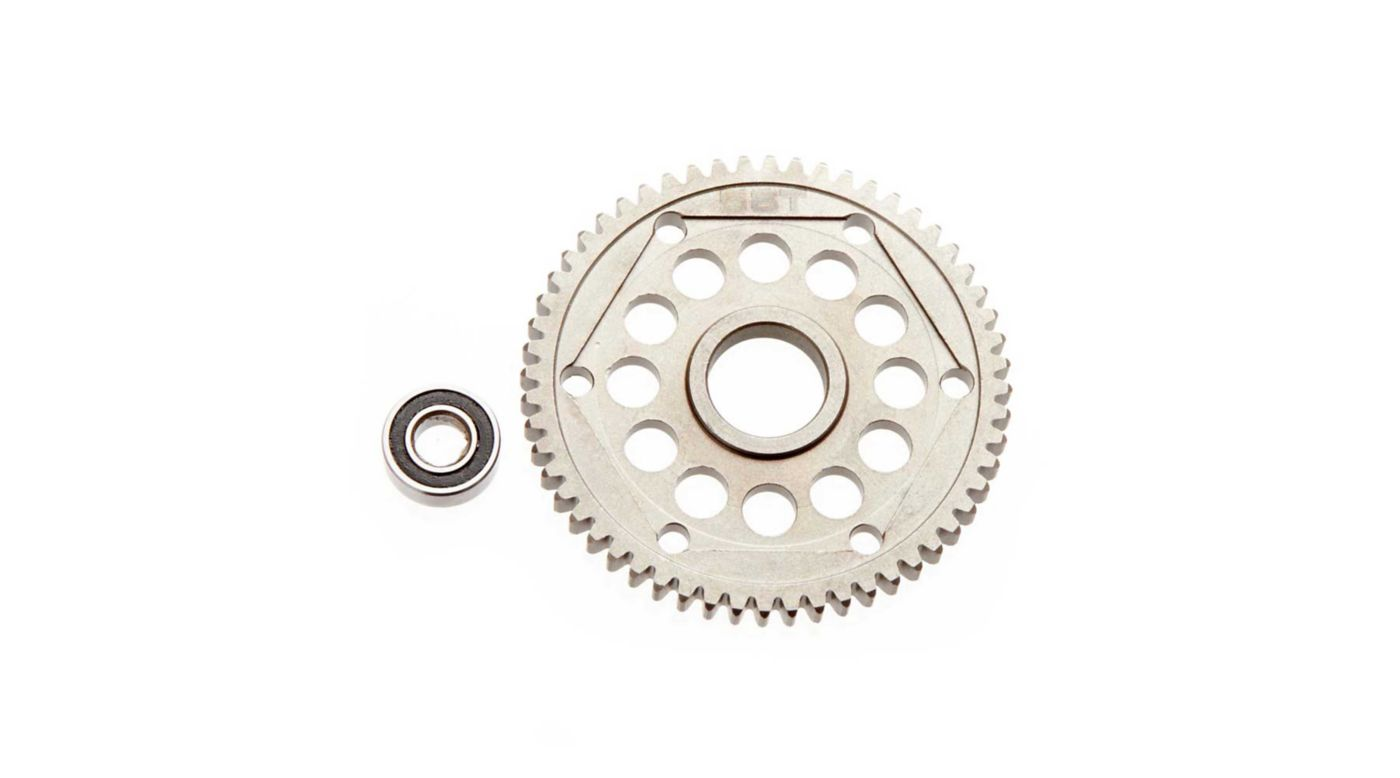 Image for Steel Spur Gear 32P 56T Yeti from HorizonHobby
