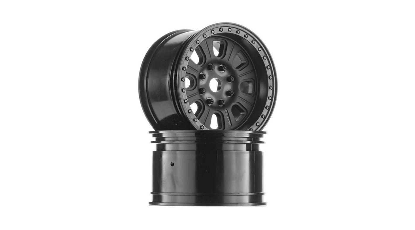 Image for 1/8 3.8 Raceline Monster Wheels, 17mm Hex, Black (2): Yeti XL from HorizonHobby